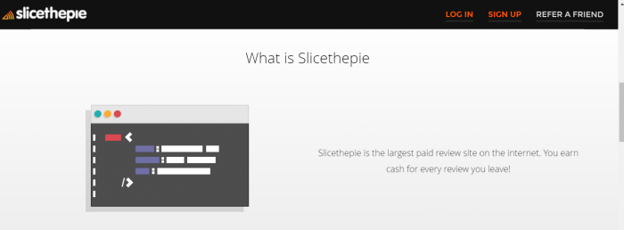 slice the pie